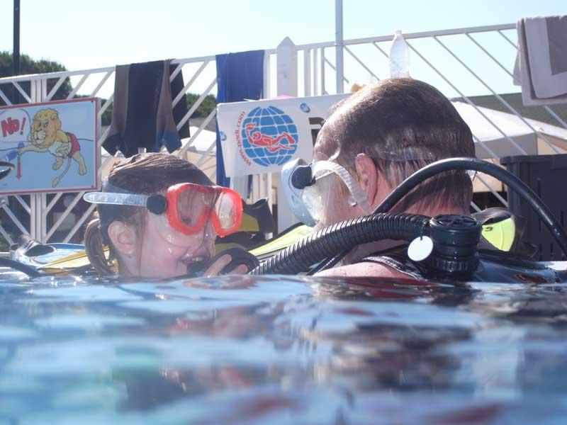 venice try diving schnuppertauchen