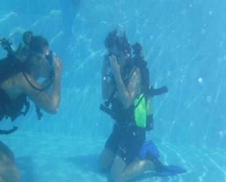prima immersione venezia