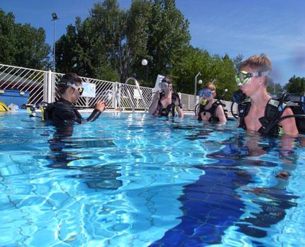 discover scuba diving in venice
