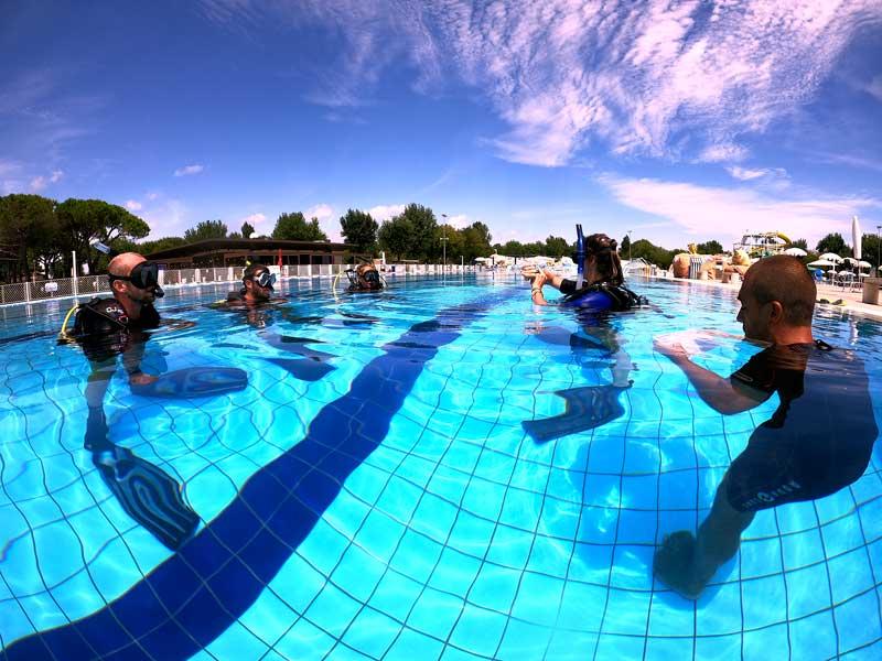 istruttore subacqueo padi